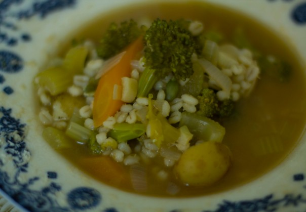 Broccoli and Barley Broth